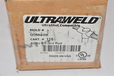 HARGER Ultraweld, GO584/0B 4/0 to 5/8 Ground Rod Mold