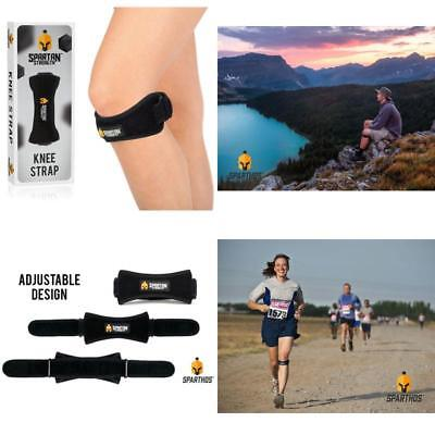 Sports Patella Strap Knee Brace Support to Arthritis ACL Running Pain Reduction