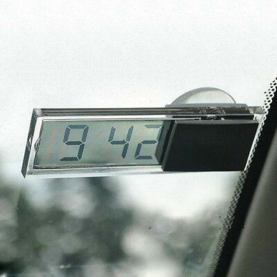 Car Dashboard Windshield Mini Electronic LCD Display Digital Auto Clock!