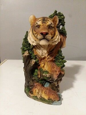 10 inch Tiger Statue By TreeMAKE AN OFFER
