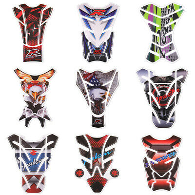 3D Motorcycle Fuel Tank Pad Protector Sticker For Honda Yamaha Harley Suzuki BMW