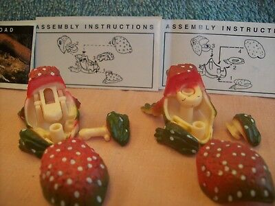 Yowies Series 3 Very Rare * Weigels Toad Pair With Variation Toys & Papers