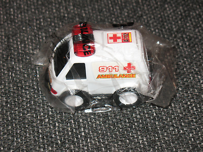 """""""911 Ambulance"""" Dairy Queen Kids Meal Toy/New in Plastic Bag  Ships Boxed!"""