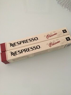 NESPRESSO 20 capsules Palermo New coffee Limited Edition 2 sleeves