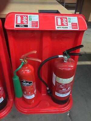 Co2 & Aff Foam Fire Extinguishers C/w Plastic Tray Only £35 + Vat Each Set