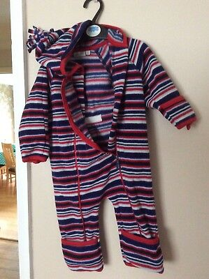Good condition Jojo maman bebe snowsuit 6-9 months