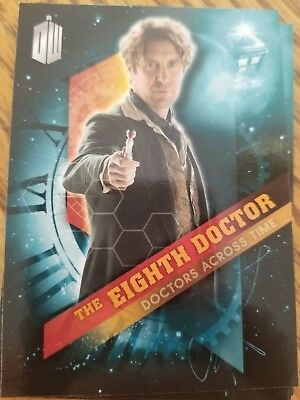 2016 Topps Doctor Who Timeless #8 The Eighth Doctor - Doctors Across Time