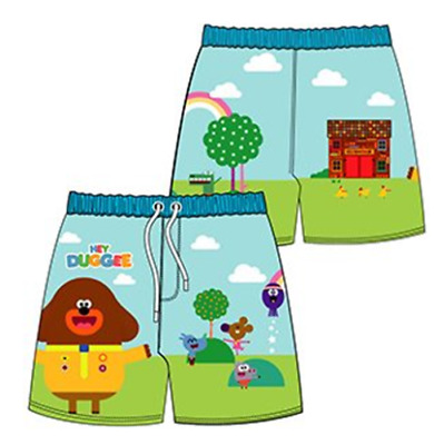 Boys Kids Official Hey Duggee Swim Swimming Bermuda Long Shorts Trunks