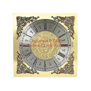 Grandfather replacement clock dial 250mm x 250mm suitable for Longcase  FREE P&P
