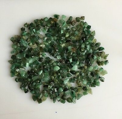 120Ct Scoop Natural Emerald Green Rough Gemstone Loose Mineral Lot Raw Wholesale