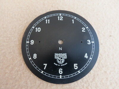 Vintage Smiths Car Clock Dial