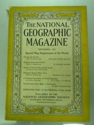 National Geographic Magazine December 1936 Flying The Pacific