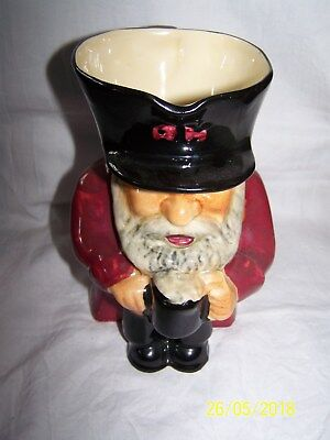 Chelsea Pensioner ~ Toby / character jug ~ 16cms