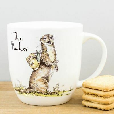 New Churchill Country Pursuits The Poacher Otter China Gift Mug 300ml Coffee Cup