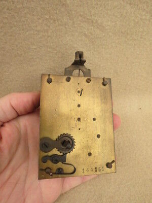 Antique Vintage Torsion Anniversary Clock Movement For Spares Repair