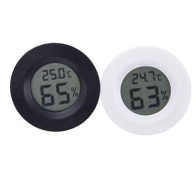 LCD Display Round Digital Thermometer Hygrometer Mini Temperature Humidity Meter