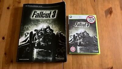 fallout 3 xbox 360 game plus official strategy guide 15 00 rh picclick co uk fallout 3 xbox 360 beginner's guide fallout 3 weapons guide xbox 360