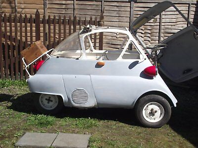 Bubble window Isetta,lhd, 4 wheeler, very rare, and very cute,only 6 in GB