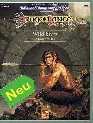 AD&D-DLS4: Wild Elves =  NEU & OVP =TSR-Originalausgabe