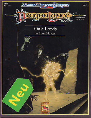 AD&D-DLS3: Oak Lords =  NEU & OVP =TSR-Originalausgabe