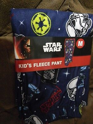 Star Wars Fleece Pant Size M (8) Brand New