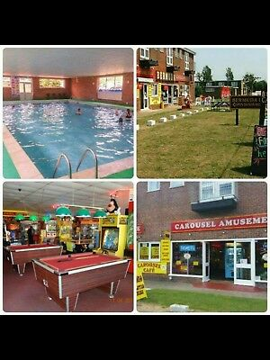 FREE POOL 20-27 July school seaside Holiday Hemsby nr Yarmouth,Norfolk 9ppl+cot