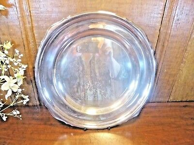 VGC ANTIQUE MAPPIN & WEBB PRINCE'S PLATE Silver Plate TRAY/PLATTER/DISH 10.25""
