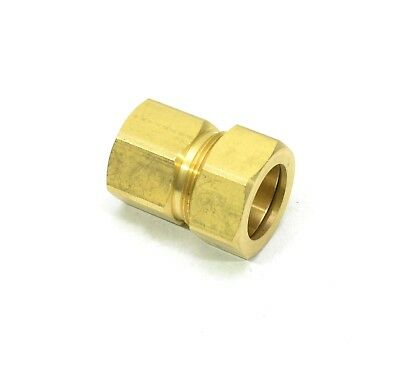 7/8 Tube OD - 3/4 NPT Female Compression Pipe Adapter Fitting Water Oil Gas
