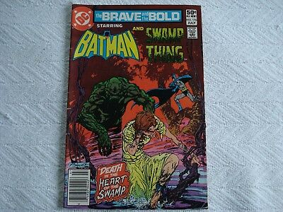 Vintage DC The Brave & the Bold  Batman & Swamp Thing #176 July 1981