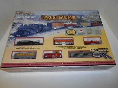 BACHMANN IRON DUKE AT&SF N Scale #24005 Complete Set NIB lot 45