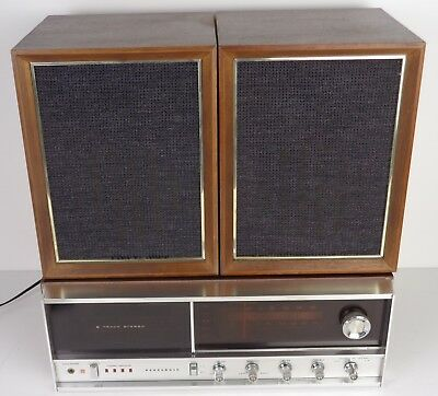 National Panasonic Re-7070B - Lettore Stereo 8 - Con Casse - Vintage