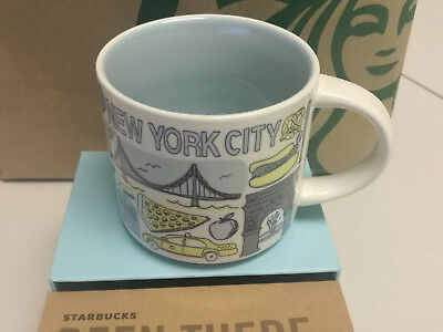 "Starbucks Coffee NEW YORK City Mug  ""Been There Collection"" 2018 New With Box"