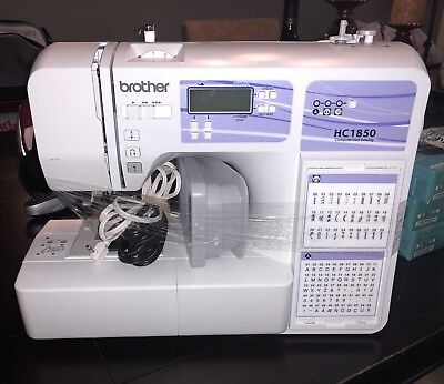 BROTHER HC40 COMPUTERIZED Sewing And Quilting Machine With 40 Gorgeous Brother Hc1850 Computerized Sewing Machine