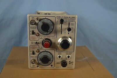Tektronix Type Z Plug-In Unit (500 5xx series Boat Anchor Analog Oscilloscopes)