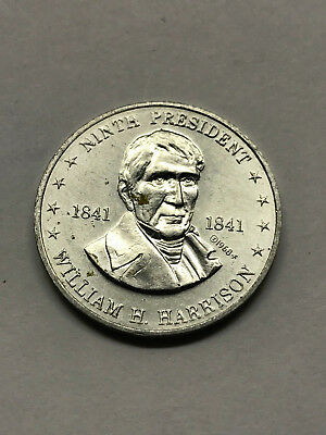 1968 Shell's Mr. President Game Token  Harrison Nice Condition #12737
