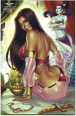 Grimm Fairy Tales Jasmine Crown of Kings #1 Zenescope Exclusive Variant Cover G