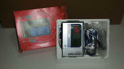 Sony Walkman Wm-8 Personal Stereo Cassette Player BRAND NEW In Box + Accessories