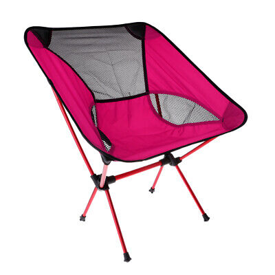 Ultralight Foldable Camping Chair Outdoor BBQ Fishing Seat Director Lounger