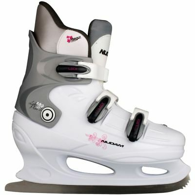 Nijdam Figure Skates Ice Skating Hard Boots Shoes Blades Size 42 0031-WZF-42