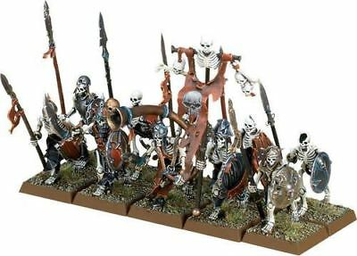 warhammer age of sigmar Skeleton Horde Skeleton Warriors X10 new on sprue