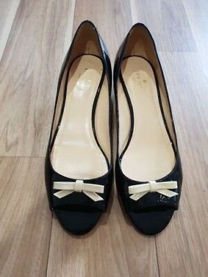 Kate Spade Size 10 Wedge Heels with Bows