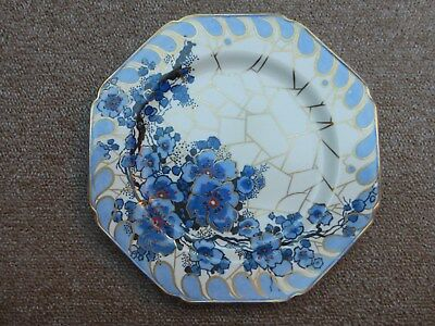 A Charlotte Rhead Bursley Ware Plate pattern 1298 in excellent condition