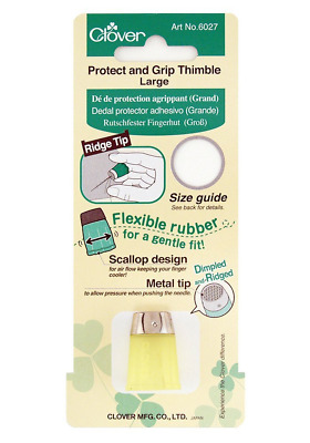 Clover rutschfester Fingerhut - Protect and Grip Thimble