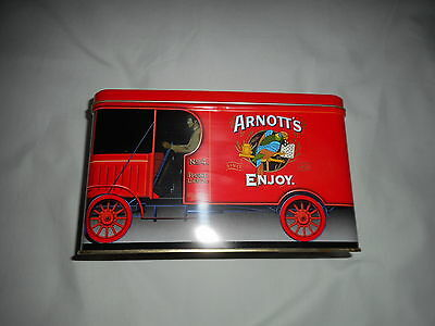 ARNOTT'S RED TRUCK SA.004 BISCUIT TIN  450g