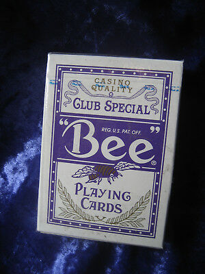Bee Mindplay Bally Casino Playing cards - Sealed - Purple - Collector's Item