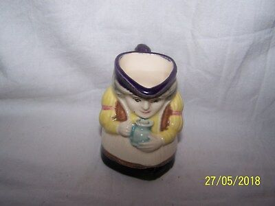 Toby Character Jug  ~Colonial Woman holding pitcher ~ 425/4 ~ 2298 ~ 6cms
