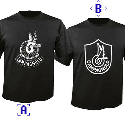 Campagnolo Black Short Sleeve T-shirt