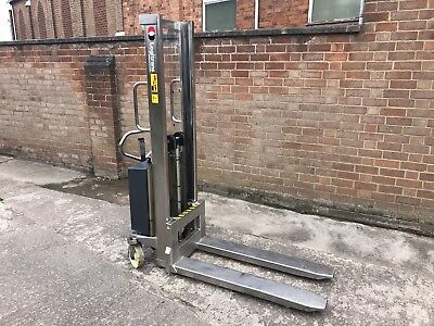 Logitrans Stainless Steel 1000kg Hydraulic Lift Pallet Truck
