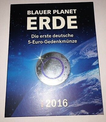 5 x 5 Euro Planet Erde 2016 in St A D F G J im Blister