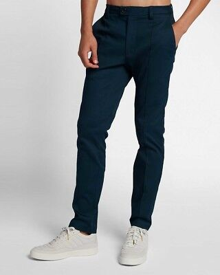 Nike Nikecourt X Roger Federer Men's Trousers -Size Small Armory Navy 920457 454